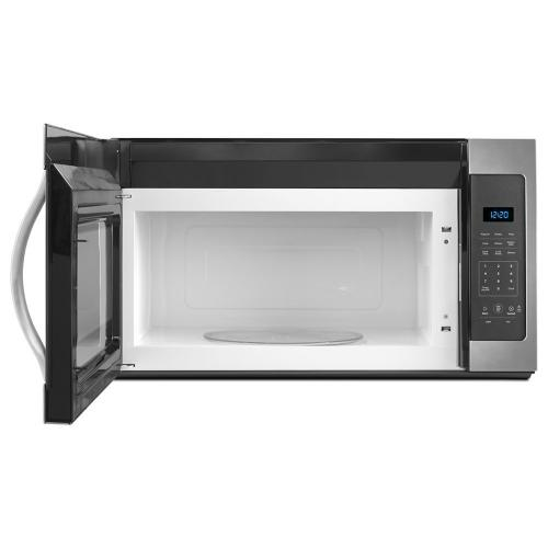 Whirlpool - 1.7 cu. ft. Microwave Hood Combination with Electronic Controls