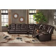 Vacherie - Chocolate 3 Piece Sectional Product Image