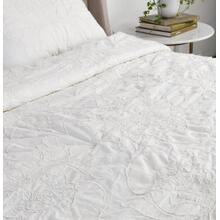 Matira Antique Cream Twin Comforter 68x86