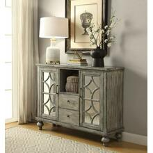 ACME Velika Console Table - 90282 - Weathered Gray