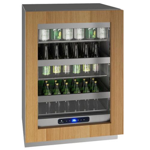"U-Line - Hre524 24"" Refrigerator With Integrated Frame Finish (115 V/60 Hz Volts /60 Hz Hz)"