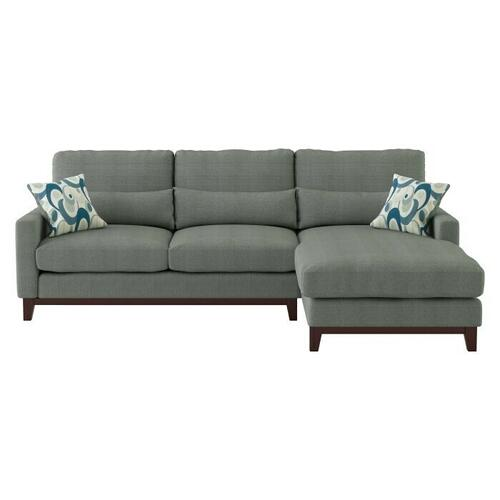 Homelegance - 2-Piece Sectional with Right Chaise