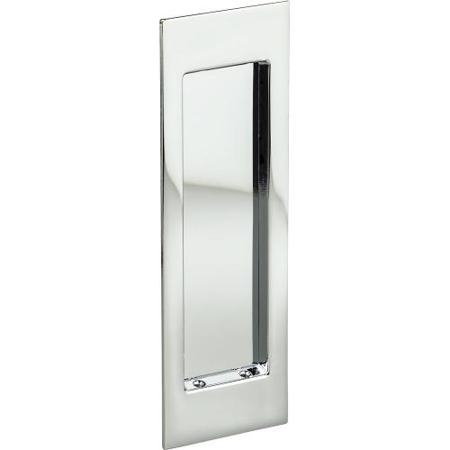 Omnia Industries - Modern Rectangular Flush Cup in (US26 Polished Chrome Plated)