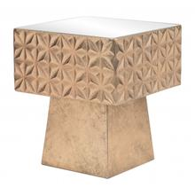 See Details - Mayan Side Table Gold