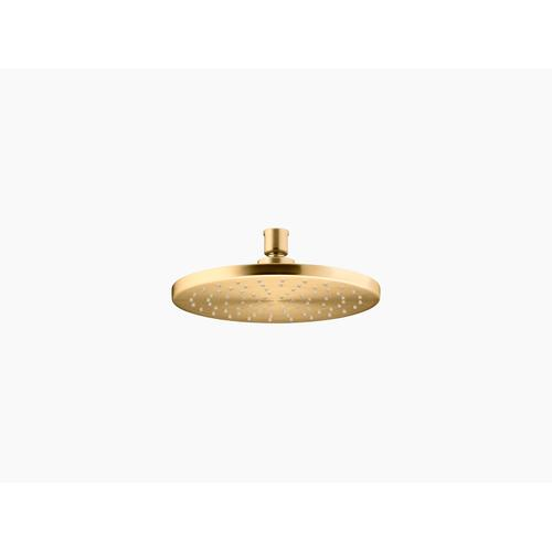"""Vibrant Brushed Moderne Brass 8"""" Rainhead With Katalyst Air-induction Technology, 2.5 Gpm"""