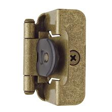 Self-closing, Double Demountable 1/2 In (13 Mm) Overlay Hinge