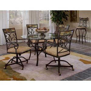 Gallery - Pompei 5pc Caster Dining Set