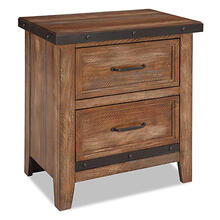 Taos 2 Drawer Nightstand