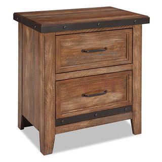 See Details - Taos 2 Drawer Nightstand