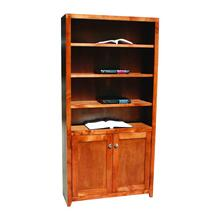 "Pacific Urban Alder 48"" 2-Door Bookcase"