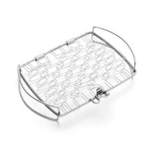 See Details - WEBER ORIGINAL - Small Stainless Steel Fish Basket