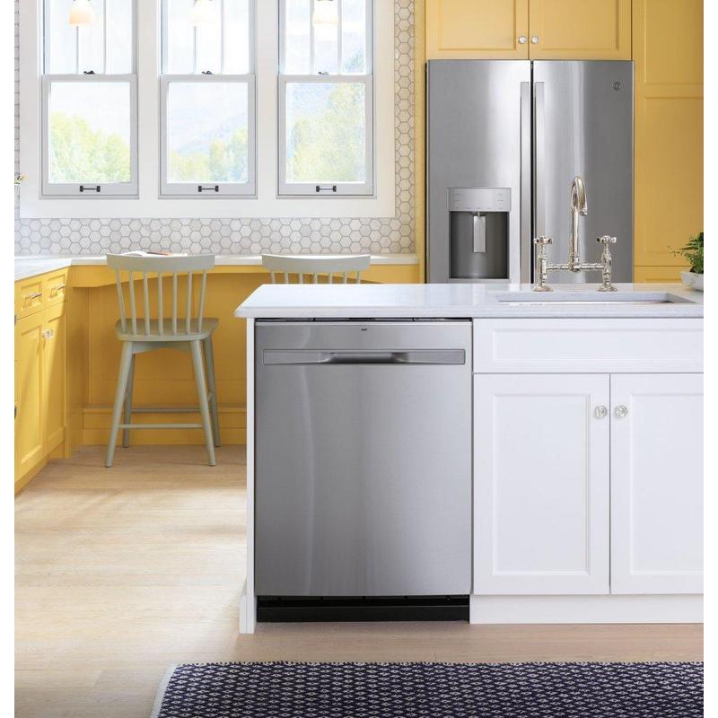 GE® ENERGY STAR® 22.1 Cu. Ft. Counter-Depth Fingerprint Resistant French-Door Refrigerator