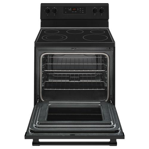 Product Image - 30-Inch Wide Electric Range With Shatter-Resistant Cooktop - 5.3 Cu. Ft.