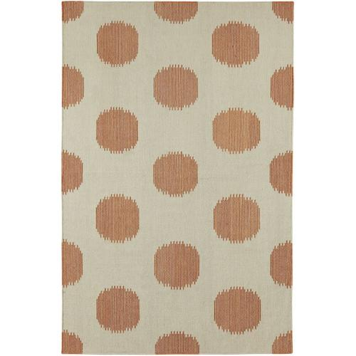 Gallery - NY Dot Persimmon - Rectangle - 3' x 5'