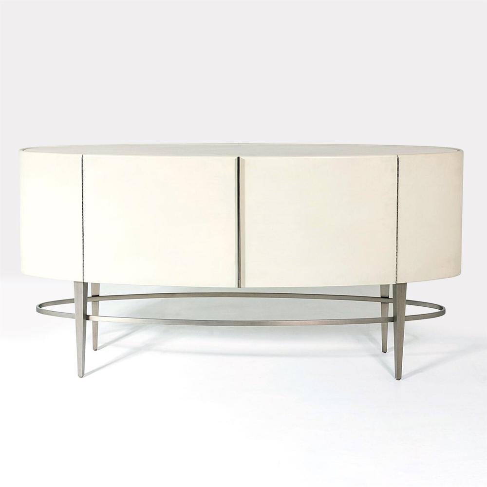 See Details - Ellipse Sideboard-Ivory