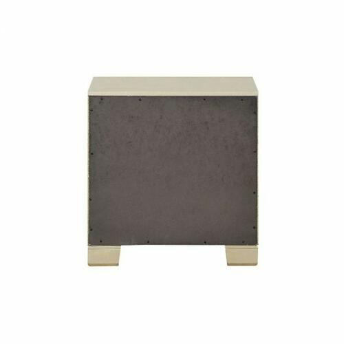ACME Voeville II Nightstand - 27143 - Champagne