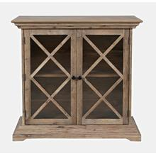 Carrington Accent Cabinet - Bisque