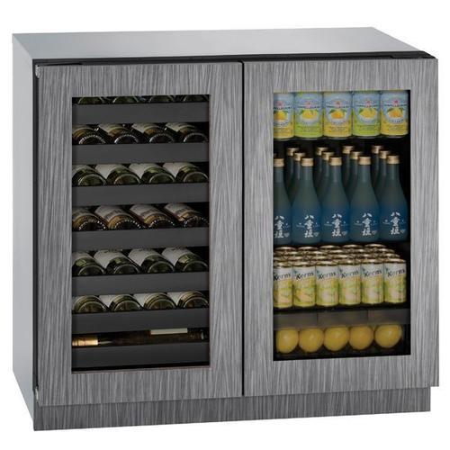 """36"""" Beverage Center With Integrated Frame Finish (115 V/60 Hz Volts /60 Hz Hz)"""