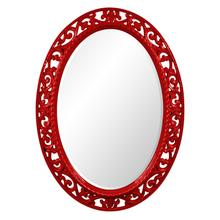 Suzanne Mirror - Glossy Red