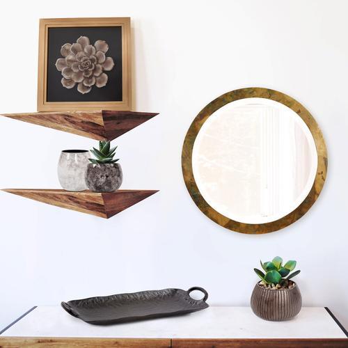 Howard Elliott - Camou Small Round Mirror