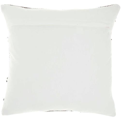"""Outdoor Pillows Vj088 Grey 18"""" X 18"""" Throw Pillow"""