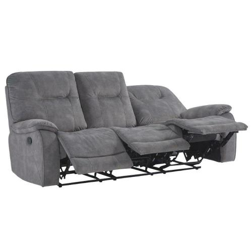 Parker House - COOPER - SHADOW GREY Manual Triple Reclining Sofa