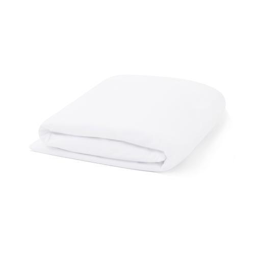 Malouf - Tencel Jersey Mattress Protector, twin, White