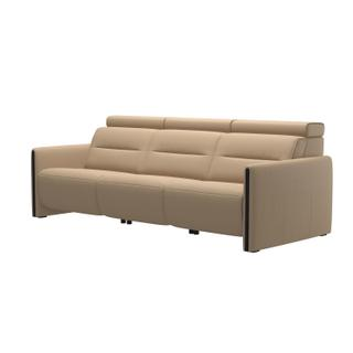 See Details - Stressless® Emily arm wood 3 seater