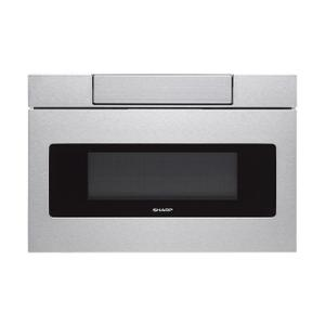 24 in. 1.2 cu. ft. 950W Sharp Stainless Steel Microwave Drawer Product Image