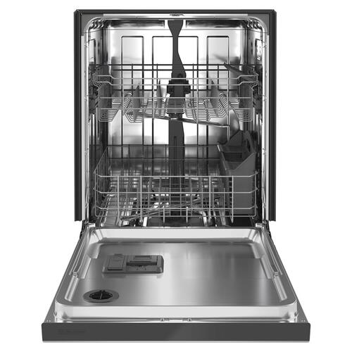 Stainless steel tub dishwasher with Dual Power filtration