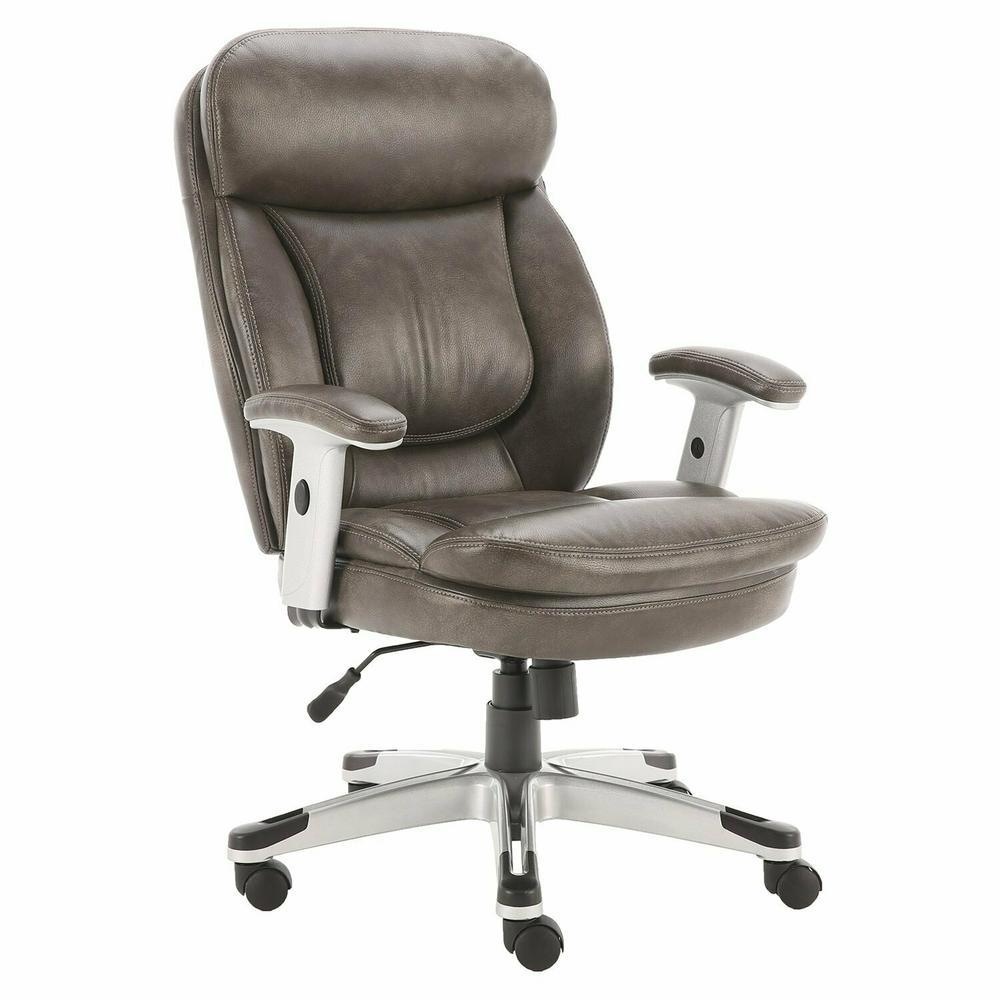 DC#312-ASH - DESK CHAIR Fabric Desk Chair