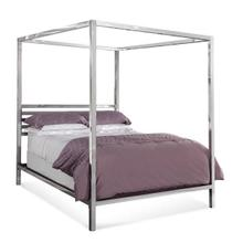 Chrome King Poster Bed