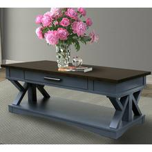 View Product - AMERICANA MODERN - DENIM Cocktail Table