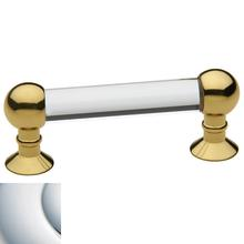 View Product - Polished Chrome Crystal Pull