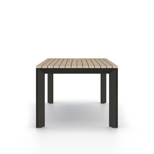 Washed Brown Finish Kelso Outdoor Dining Table
