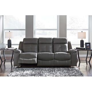 Jesolo Reclining Sofa Dark Grey