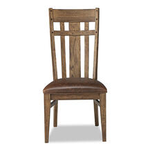 River Lattice Back Side Chair