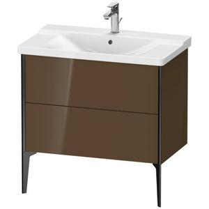 Vanity Unit Floorstanding, Olive Brown High Gloss (lacquer)