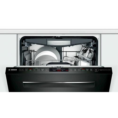 800 Series Dishwasher 24'' Black, XXL SHP878ZD6N