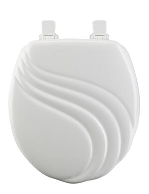 Molded Wood Round Toilet Seat Product Image