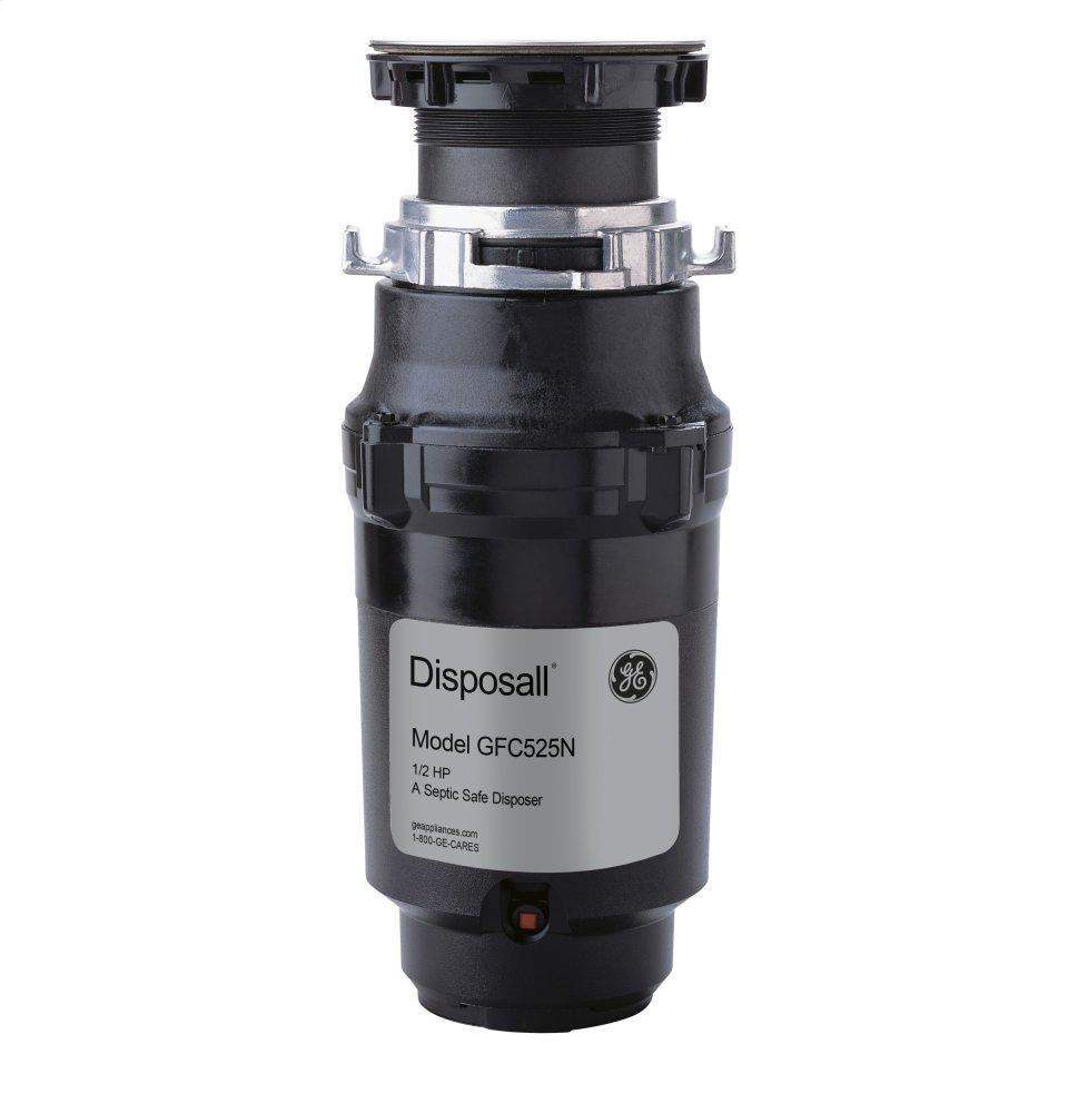 ®1/2 HP Continuous Feed Garbage Disposer - Corded