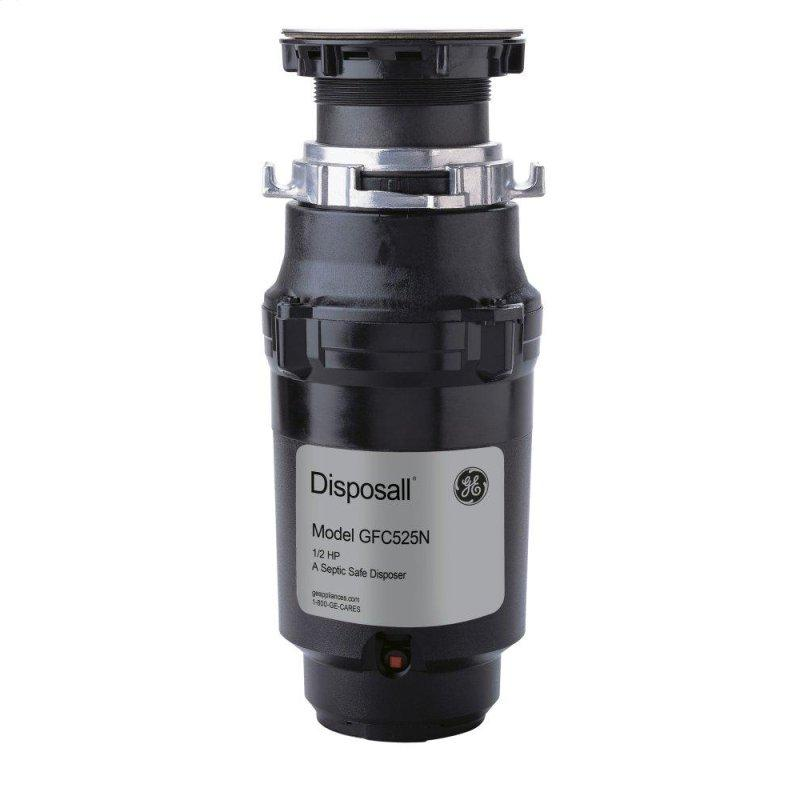 1/2 HP Continuous Feed Garbage Disposer - Corded