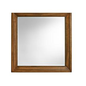 Landscape Mirror with Beveled Glass