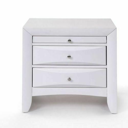ACME Ireland Nightstand - 21704 - White
