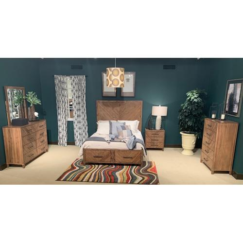 Jofran - Eloquence Cal King Footboard With Drawers