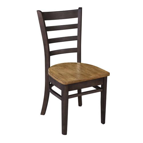 Emily Chair in Hickory Coal