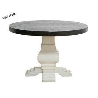See Details - Ww/199 4 Ft Round Table