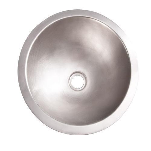 "Birk 14"" Round Copper Lavatory Bowl"
