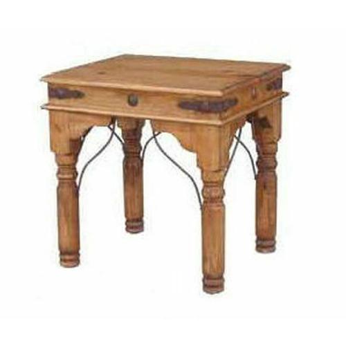 Million Dollar Rustic - End Table W/conchos