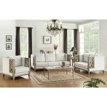 ACME Artesia Sofa - 56090 - Fabric & Salvaged Natural